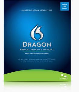 Dragon Medical software